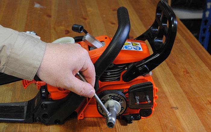 Ремонт сцепления бензопилы своими руками